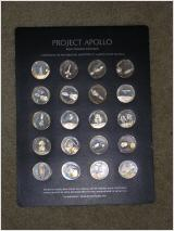 Silver Plated USA Mission Apollo Space Flight Details about  /Lot of 5 Souvenir Coins Medals
