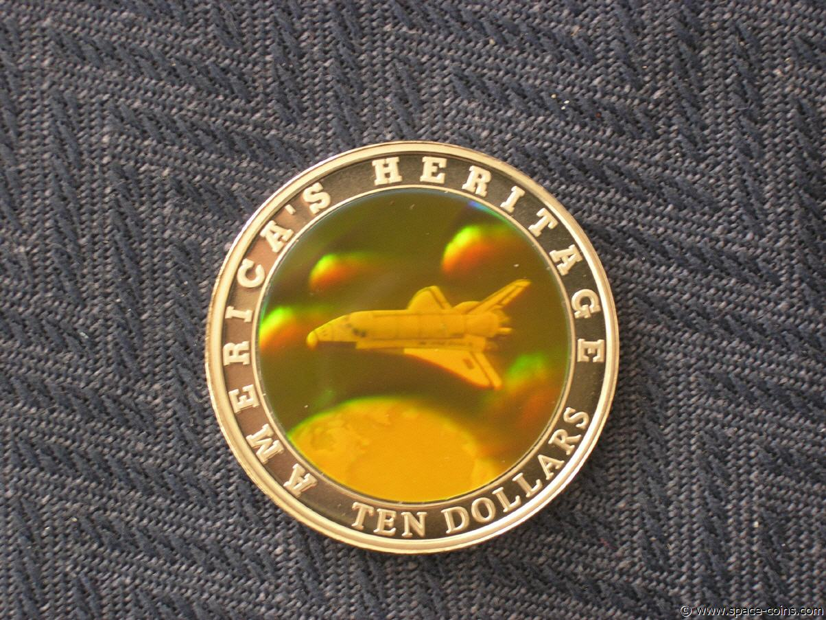space shuttle discovery 5 dollar coin worth - photo #44